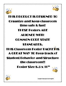 Classroom Posters Organization
