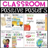 Classroom Posters - Positive Vibes!