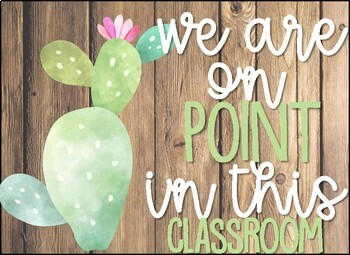 Classroom Posters Pun Posters Tropical Theme