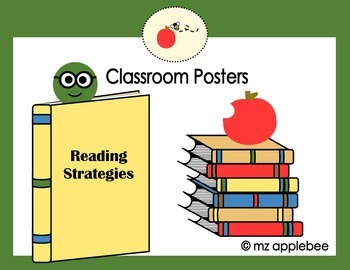 Classroom Posters: Reading Strategies