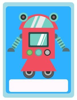 Classroom Posters: Robots!