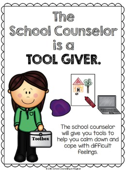 Classroom Posters: Role of the School Counselor/Social Worker/Psychologist