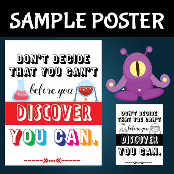 Classroom Posters Science Edition