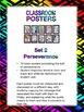 Classroom Posters Set 2:  Perseverance