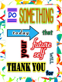 Classroom Posters Set 3:  Why Set Goals?