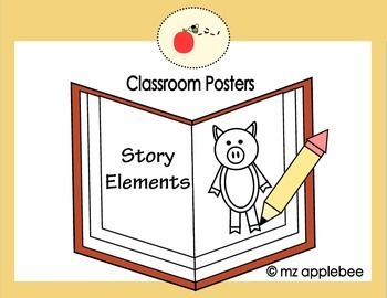 Classroom Posters: Story Elements