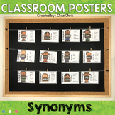 Classroom Posters - Synonyms
