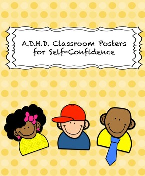 Classroom Posters for ADHD Students