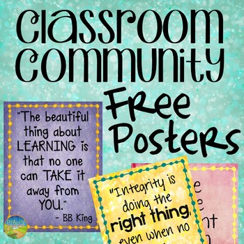 Free Classroom Posters