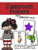 Classroom Posters {manuscript}