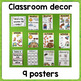 Classroom Posters: seasons /days / weather / events...