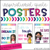 Classroom Posters with Inspirational Quotes