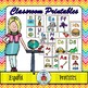 Classroom Printables in Spanish