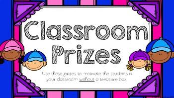 Classroom Prizes & Reward Coupons