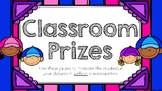 Classroom Prizes & Reward Coupons