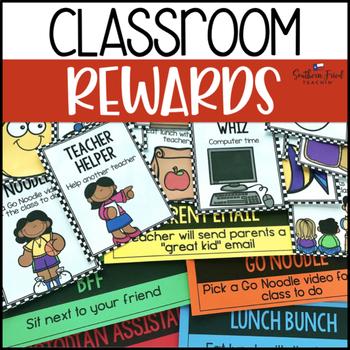 Fun Classroom Prizes EDITABLE