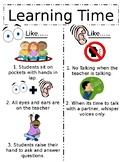 Classroom Procedure Posters - Part 1