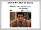 Classroom Procedure Powerpoint using Memes