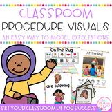 Classroom Procedure Visuals *Editable*