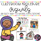Classroom Procedure Visuals *Editable*