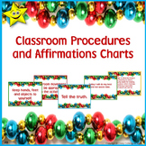 Classroom Procedures Posters - Christmas Theme
