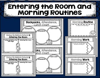 Classroom Procedures Book for Back to School EDITABLE