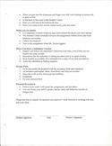 Classroom Procedures 2