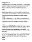 Classroom Procedures Activity