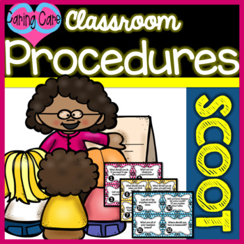 Classroom Procedures - Back-to-School SCOOT!