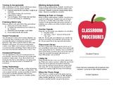 Classroom Procedures Brochure