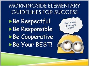 Classroom Procedures & Expectations PowerPoint