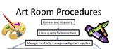 Classroom Procedures Flowchart
