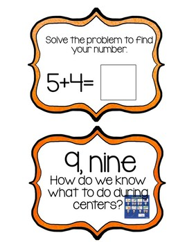 Classroom Procedures Game