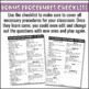 Classroom Procedures Game Show PowerPoint for Classroom Ma