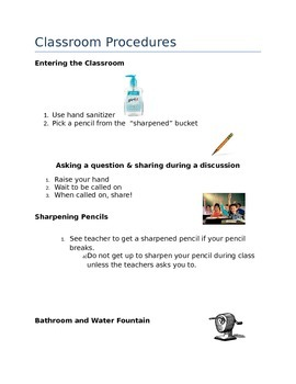 Classroom Management & Procedures Guide