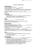 Classroom Procedures Guided Notes and Quiz