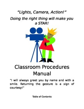 Classroom Procedures Manual