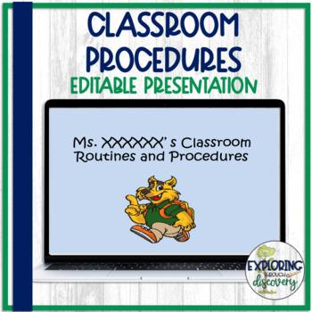 Classroom Procedures PPT **editable!!!**