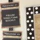 Classroom Procedures Posters Industrial Chic Chalkboard