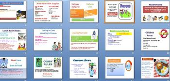 Classroom Procedures Power Point - adapt to yours