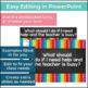 Classroom Procedures PowerPoint with Memes (Editable!)