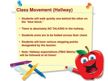 Classroom Procedures Presentation