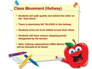 Classroom Procedures Presentation