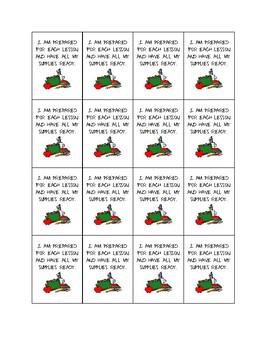 Classroom Procedures Set 1