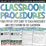 Classroom Procedures Step-by-Step Guide - Back to School C