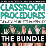 Classroom Procedures - Step-by-Step Guide and Checklist -