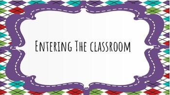 Classroom Procedures Task Cards