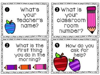 Classroom Procedures Write the Room Activity