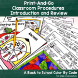 Back to School | Classroom Procedures and Routines | Activities and Games