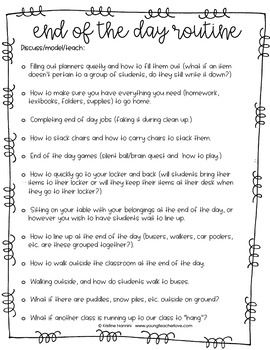 Classroom Procedures to Teach {Back to School Classroom Management Tool}